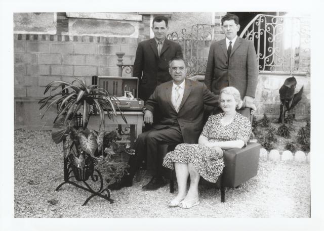 Départ en retraite en 1967